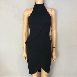 Bailey 44 Orei Ponte Knit Bodycon Dress Black